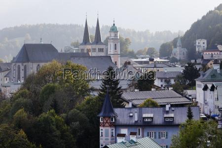 cityscape with parish church st andreas