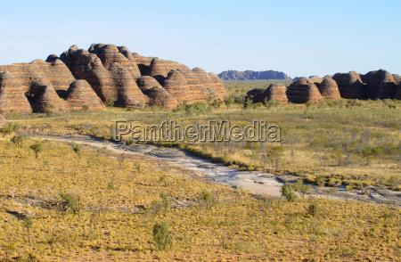 sandstone formation in purnululu national park