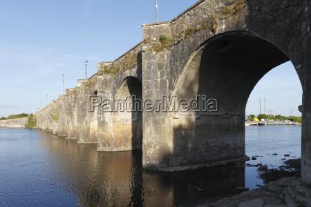old bridge over shannon shannonbridge county
