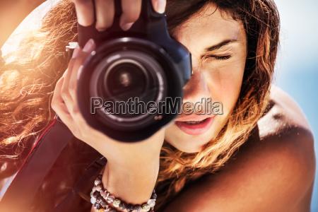 schoenes fotografmaedchen