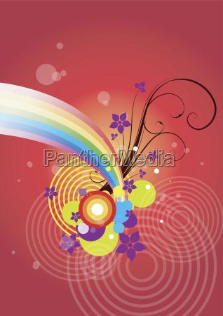 blumenmuster illustration