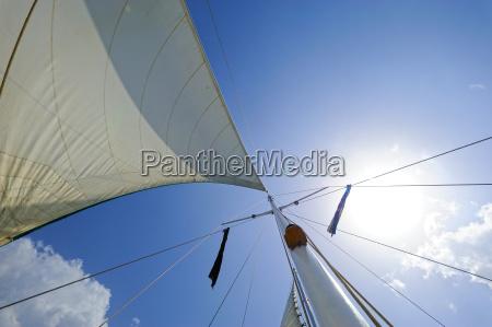 mast of a sailing ship dominican
