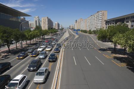 urbane szene in beijing china