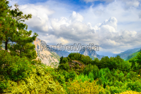 berge postkarte landschaftsbild landschaft natur bewoelkung