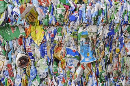 gepresste tetrapack verpackungen recyclinghof