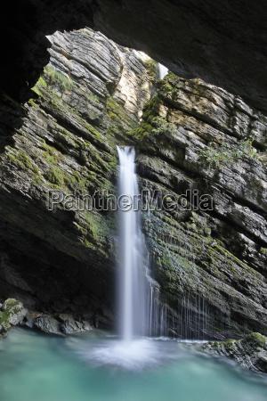 thurwasserfalle der santisthur unterwasser