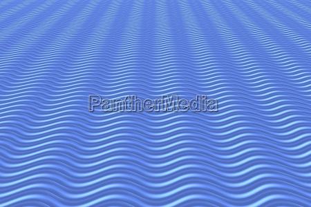 blue waves background 3d illustration