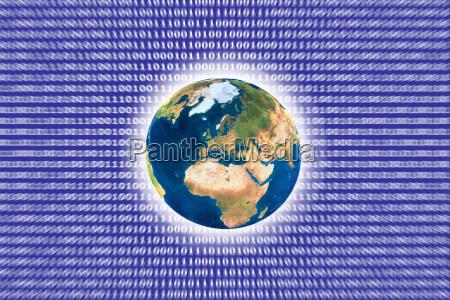 symbolbild cloudcomputing zahlen und datenstrome