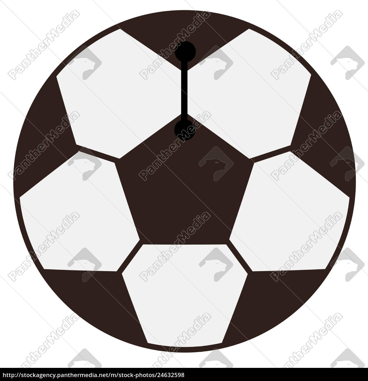 Stockfoto 24632598 Fussball Grafik Weisser Hintergrund