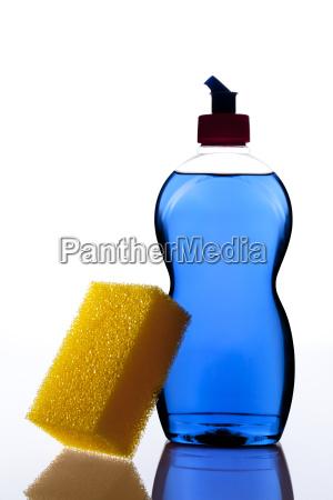 reinigungsmittel mit schwamm
