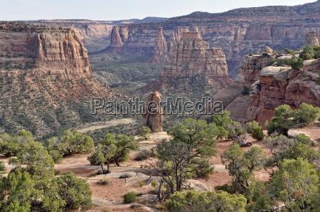window rock trail wedding canyon colorado