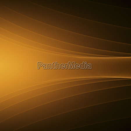 orange abstract glowing background with curved