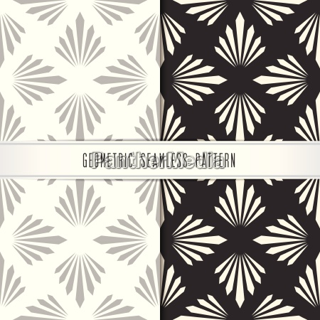 vector geometric seamless pattern modern design