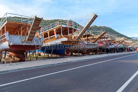 industrie holz tourismus segeln weinlese segel