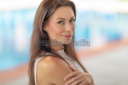 authentic woman portrait