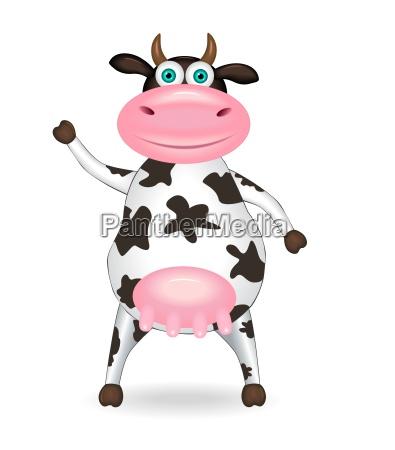 beschmutzte kuh