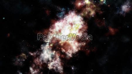 blau space weltall universum kosmos wissenschaft
