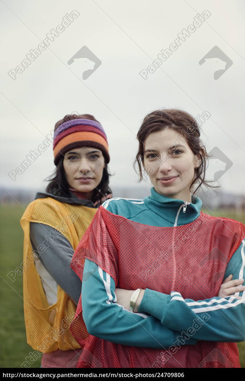 portrait, of, two, caucasian, women, in - 24709806