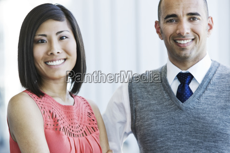 portrait of an asian businesswoman and