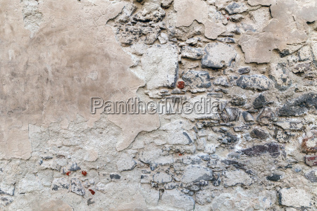 weathered old cement wall