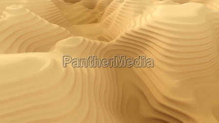 abstract canyon pattern 3d rendering