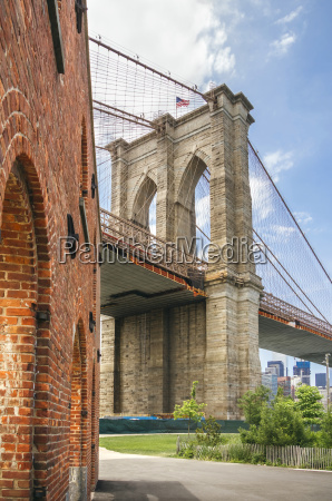 usa new york brooklyn view of
