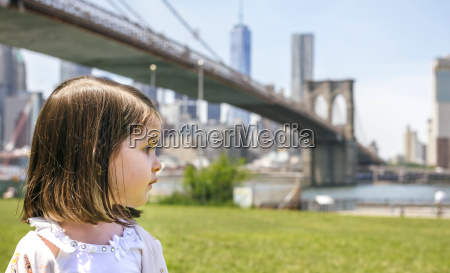 usa new york brooklyn portrait of
