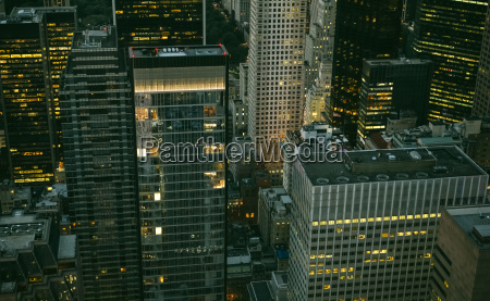 usa new york manhattan high rise