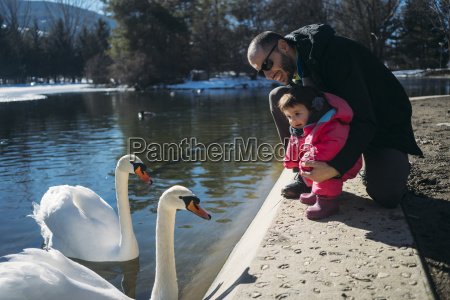 france osseja lake cute baby with
