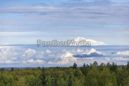 usa alaska talkeetna view to summit