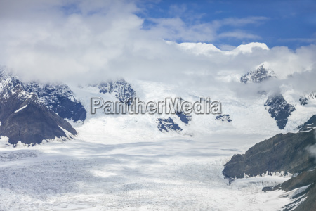 usa alaska aerial view of ruth