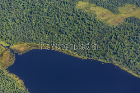 usa alaska talkeetna aerial view of