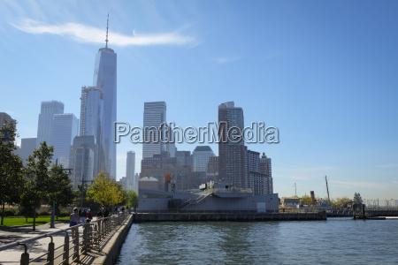 usa new york city pier at