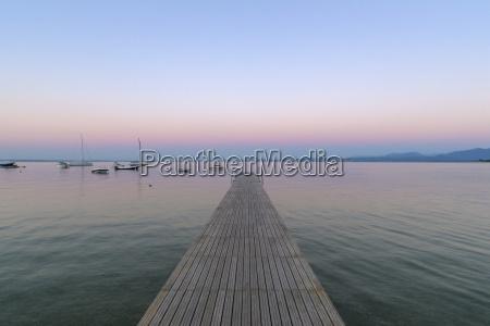 blau horizont holz tourismus pastell sonnenaufgang