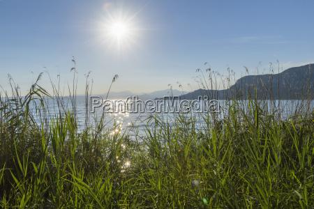 blau horizont tourismus leuchten leuchtet hell