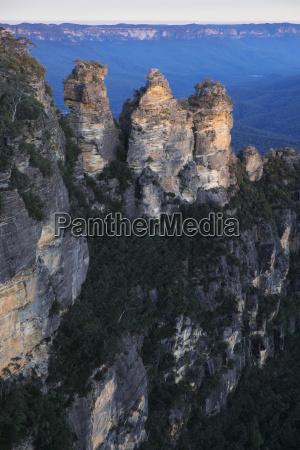 blau park nationalpark sonnenuntergang tourismus formation