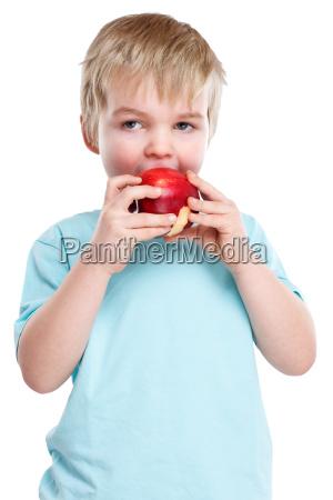 child apple fruit fruits eat autumn