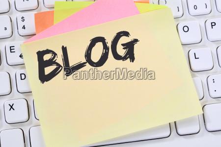 blog write blogger online on the