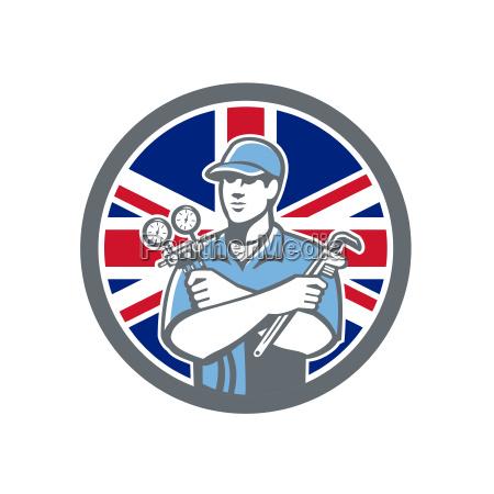 britische kaeltemirkmechanismen