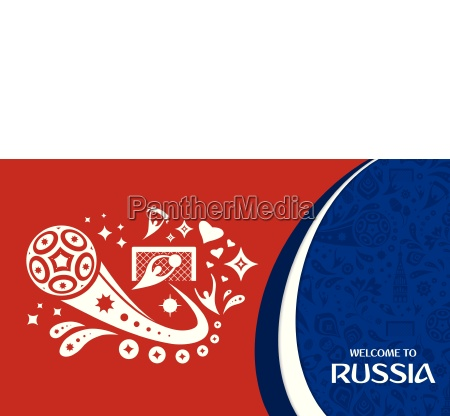 welcome to russia design template with