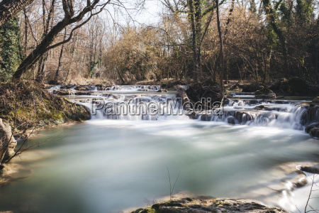 scenic view of flowing water in
