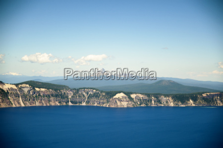 scenic view of crater lake national