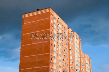 new storey residential building on the