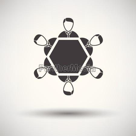 konversationstabelle symbol