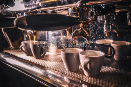 professionelle kaffeebruehung