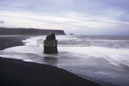 malerische aussicht auf den strand von