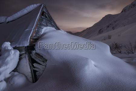 umwelt berge winter nacht nachtzeit usa