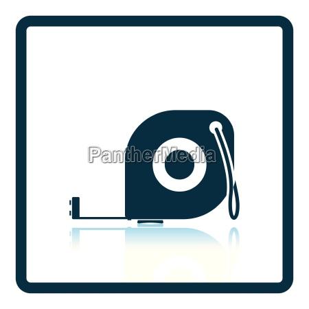 ikone der massbandmasse
