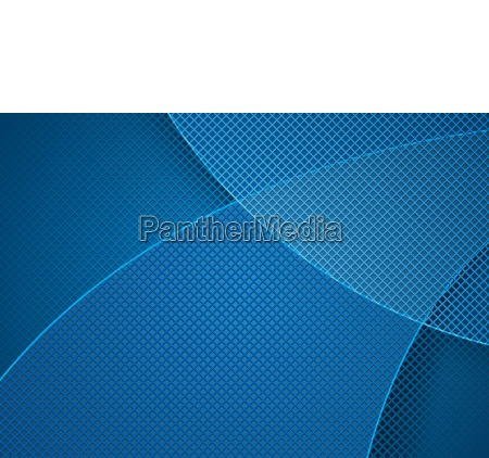 blue abstract background and grid pattern