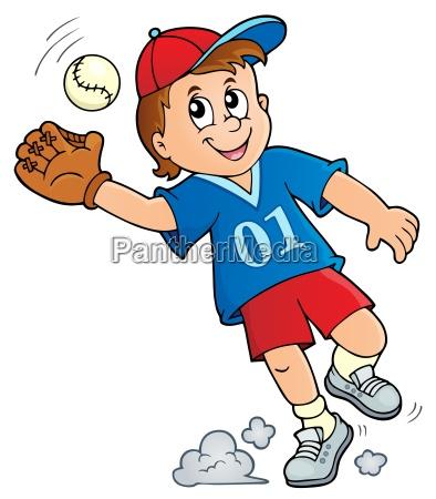 motivbild des baseballspielers 1